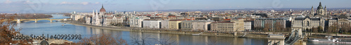 panorama view of the Budapest