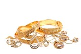 Fototapety Golden jewelry