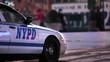 Police Car on Street