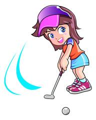 Golf ball players
