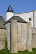 Castle of Noirmoutier en l'Ile in France