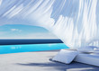 Curtain wind blow, lounge sofa bed, pool suumer holiday - 41002789