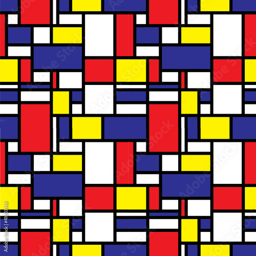 Retro Seamless Grid Pattern