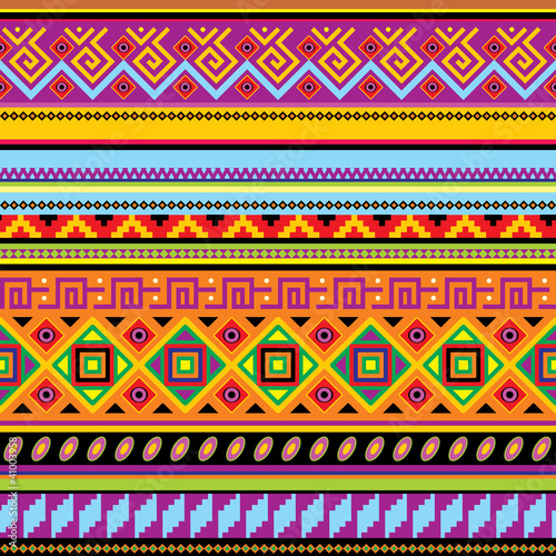 Sticker mexican background