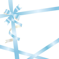 light blue ribbon background