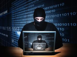 hacker on duty