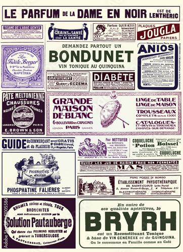 Poster Kranten Page de pub
