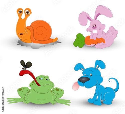 l可爱动物卡通