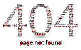 404 file error, typographic illustration poster