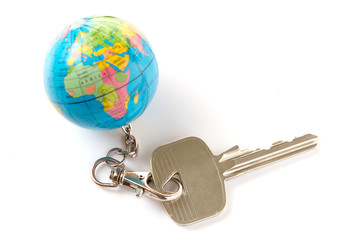 key from the world