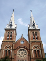 Catholic cathedral in Vietnam
