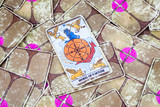 Wheel of Fortune, Tarot card, Major Arcana (2) poster