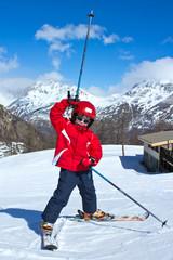 Plaisir de skier (enfant 6-7 ans)
