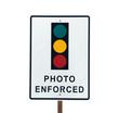 Photo Enforced Traffic Light Sign