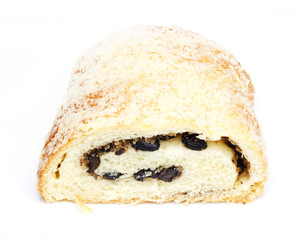 strudel with raisins