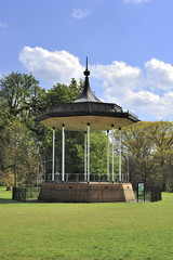 Band Stand In Kensington Garden London Großbritanien