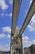 Detail Tower bridge London Großbritanien