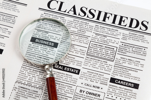 Fake Classified Ad