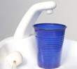 Bicchiere vuoto,studio dentistico