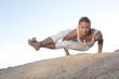 Yoga Pose Astavakrasana