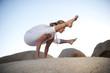 Yoga Pose Titibasana