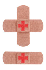 Red cross bandages