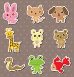 Fototapety animal stickers