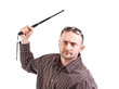Man whit truncheon