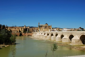 Roman bridge, Cordoba, Andalusia, Spain © Arena Photo UK