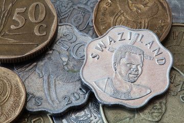 Coins from South Africa