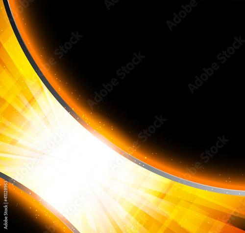 Bright oarnge background