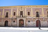 Fototapety Bishop's palace. Lucera. Puglia. Italy.