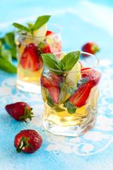 Strawberry Basil Sangria