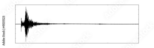 Isolated Seismogram of Haiti 2010 earthquake