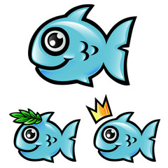 fish funny cartoon