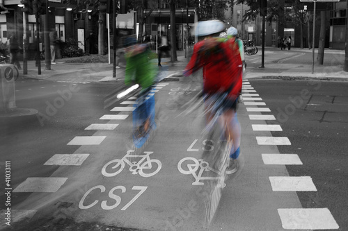 Bicycle Lane C48 - 41033111