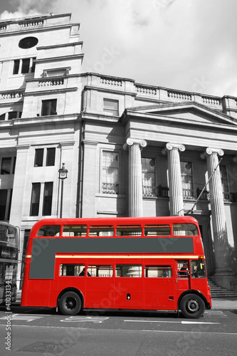 Foto op Canvas Londen rode bus London Route Master Bus