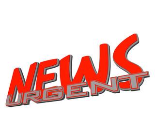 NEWS urgent -3D