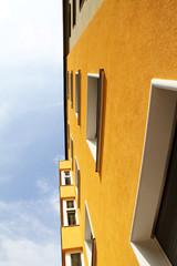 Hauswand in Graz
