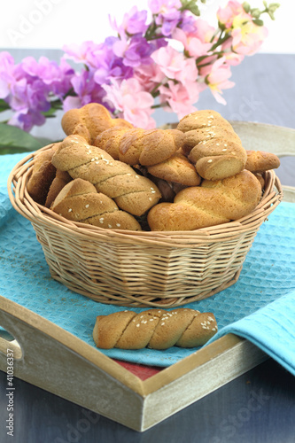 Butter shortbread biscuits