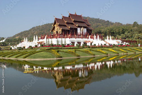 Golden Royal Temple in Chiang Mai