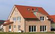 Neu gebautes Einfamilienhaus