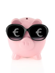 Summer piggy bank