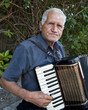 Old Man with Accordian