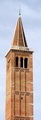 verona - chiesa santa anastasia e san giorgetto - campanile