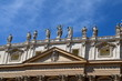 Detail of Saint Peter's Basilica, Rome