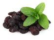 Raisins with mint