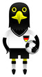 Germany Football Soccer Mascot Character