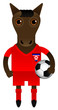 North Korea Football Soccer Mascot Character