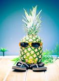 Cool dude pineapple
